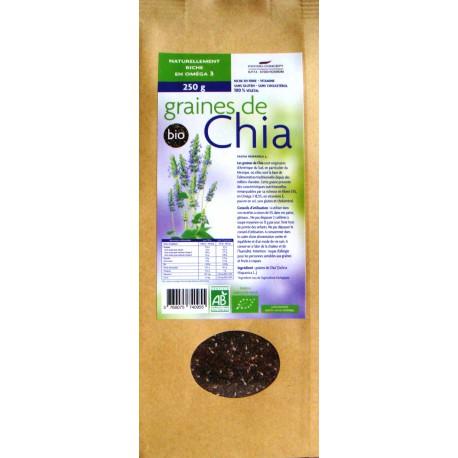Graines de Chia Biologiques* 250 g