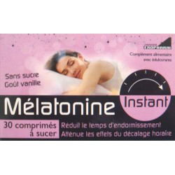 Mélatonine Instant 30 comprimés à sucer