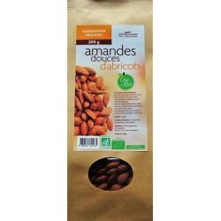 Amandes douces d'Abricots biologiques 200 g
