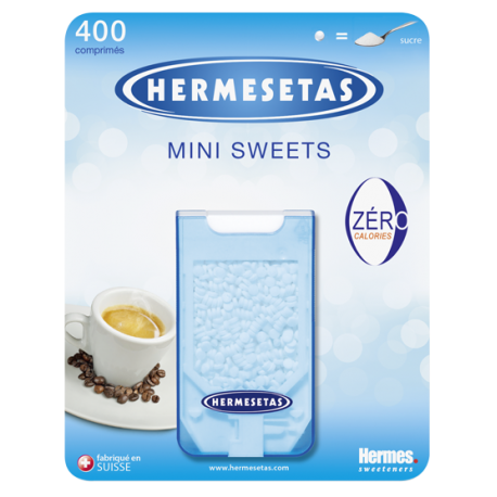 Hermesetas Mini Sweets 400 Comprimés Lot 4+1 offert