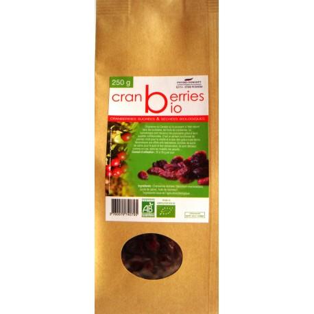Cranberries Biologiques* 250 g
