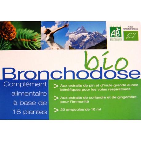 Bronhodose Biologique 20 Ampoules