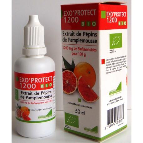 Exo'Protect 1200 – Extrait de Pépins de pamplemousse* 50 ml