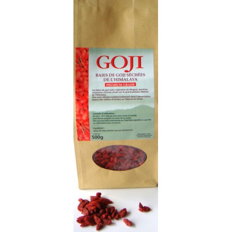 Baies de goji de l'Himalaya Premium Grade 1 Kg